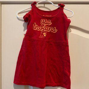 USC Trojans dress - toddler - tank top - 3T